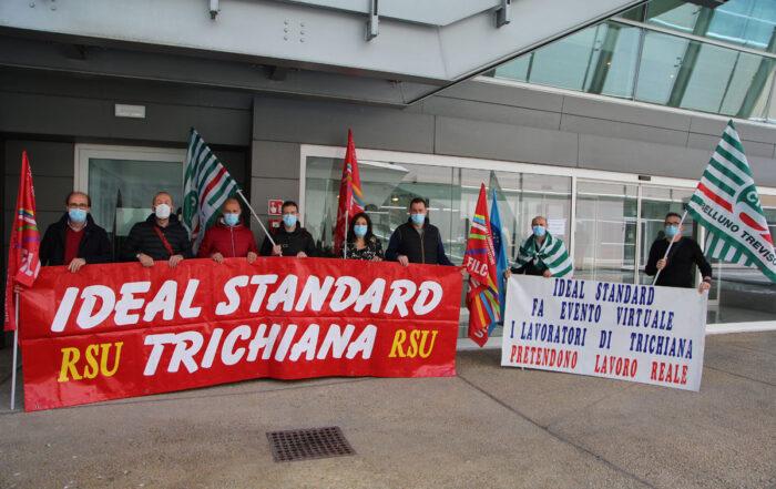 Manifestazione Ideal Standard Milano